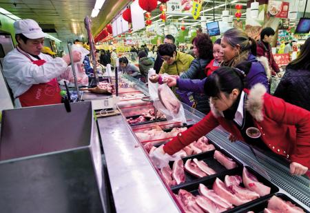 上海开放进货河南白条肉,河南大涨5-8毛!
