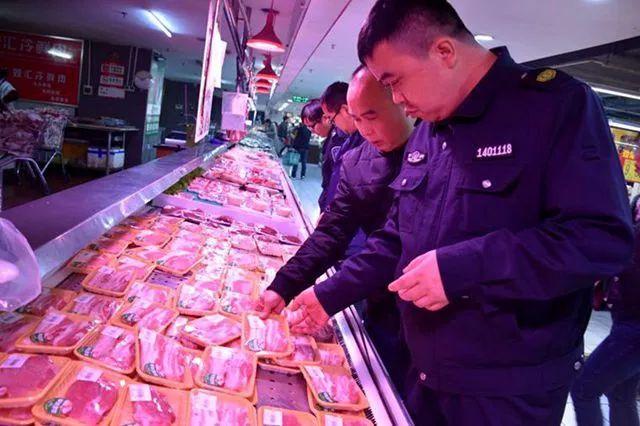 突击检查!湖南吉首多部门抽检超市猪肉,结果是...
