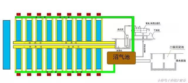 环保养猪场粪污处理系统设计图【收藏】