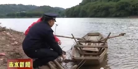 赤水查获两名水运猪肉嫌疑人