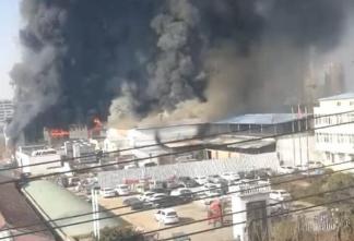 河南商丘市一屠宰场因员工违规操作发生火灾,造成11人死亡