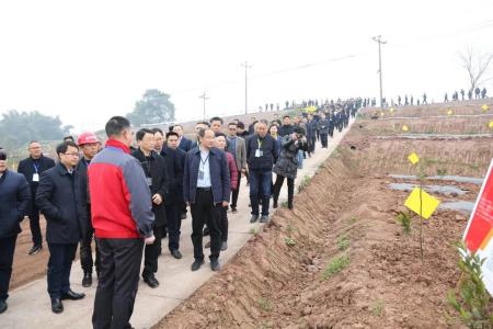 德康种养循环模式获重庆市副市长一行高度认可