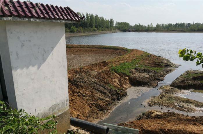 大量猪粪堵塞闸门 养殖户因缺水心急如焚