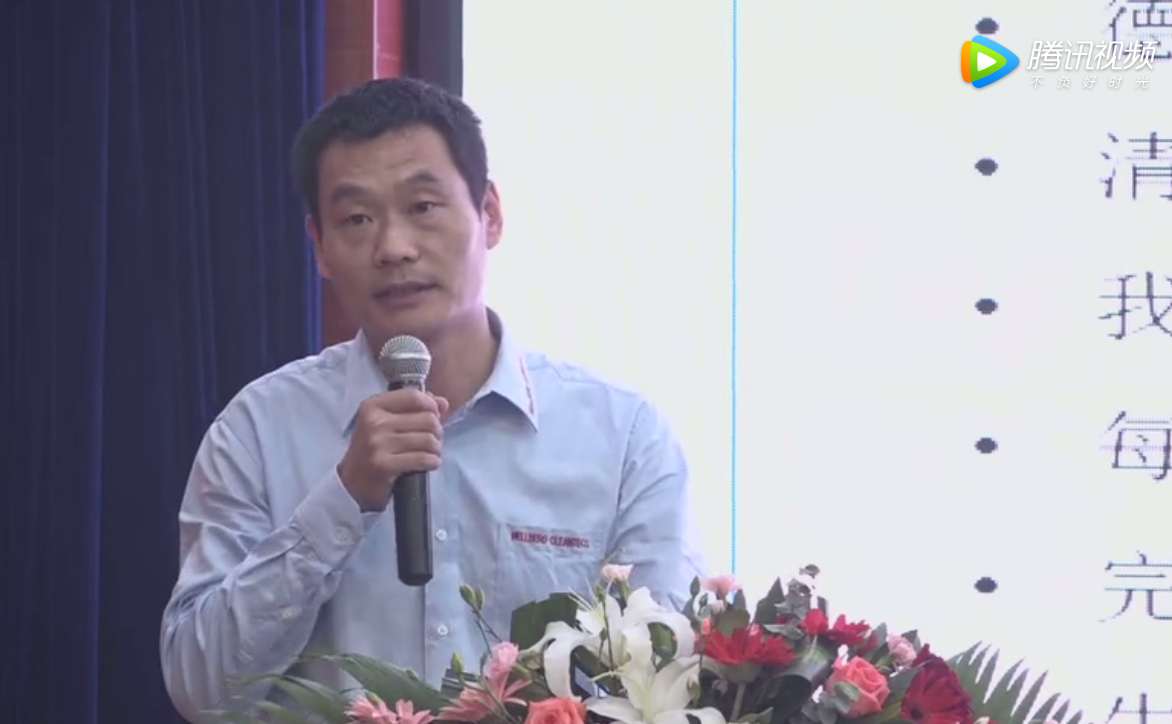 杨浩总监对德国农场生物安全防控经验交谈