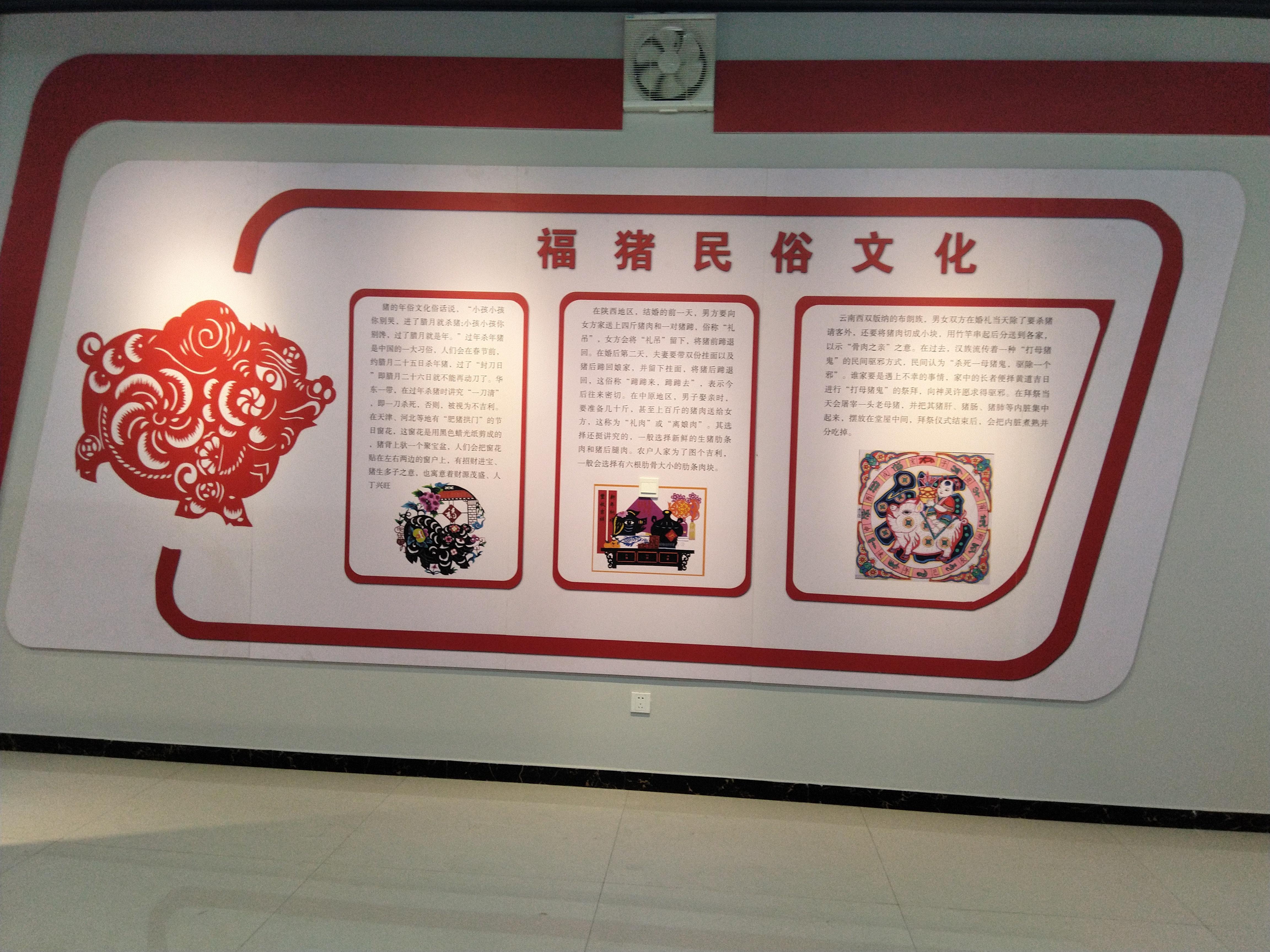 平邑县建成全市首家猪文化展馆,以畜牧生产带动旅游发展