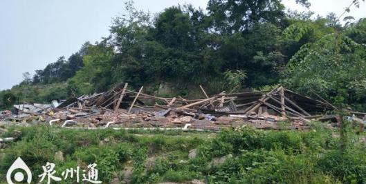 泉州德化一养猪场污水直排水库 已被强制拆除
