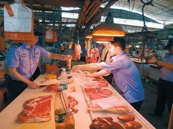太原市场局召开流通环节生猪产品质量安全监管会,将严查三证
