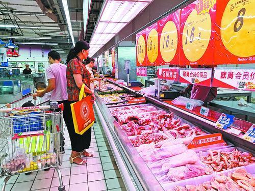 猪价上涨最新情况,马鞍山猪肉价格直逼四年前高峰期