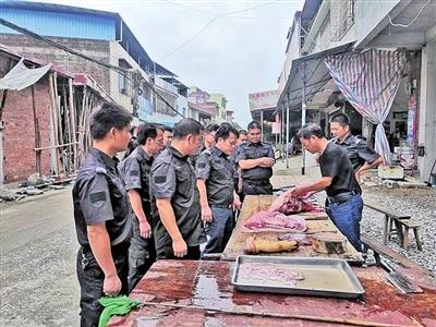 来宾市关停34家不合格生猪定点屠宰场 清理整顿工作