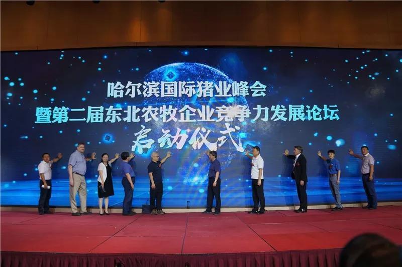 第二届(2019)哈尔滨国际猪业峰会,新思路新方法助力产能恢复