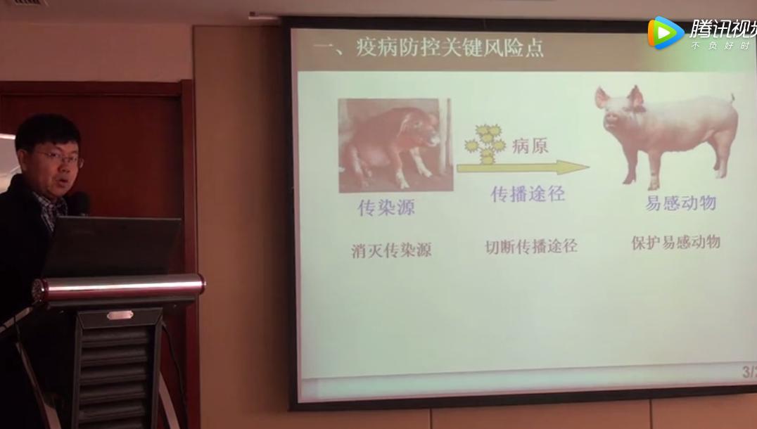 左玉柱:规模化猪场非瘟防控风险与生物安全体系建设