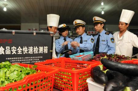 安徽省安庆市市场监管局突查城区猪肉市场