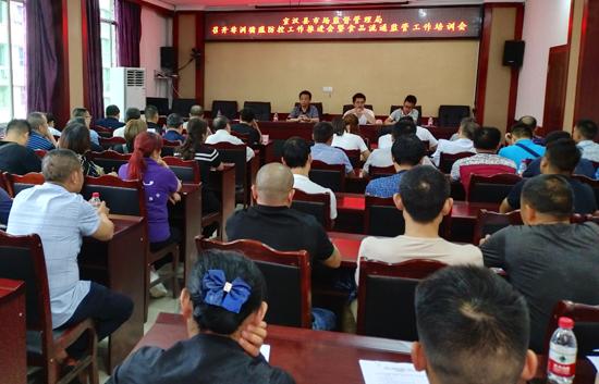 宣汉县开展非洲猪瘟防控大排查,排查对象包括400余家猪肉摊和42家冻库