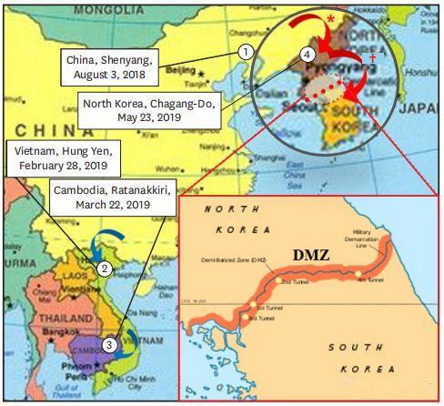 非洲猪瘟能传播多远?据预测,韩国日本终将难以幸免