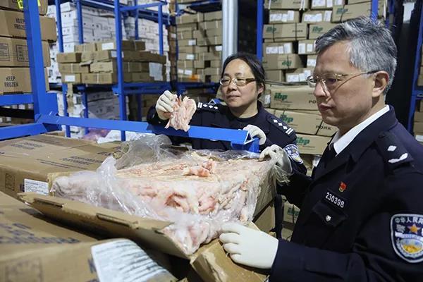 海关总署 财政部发出通知:查获走私冻品由地方归口处置