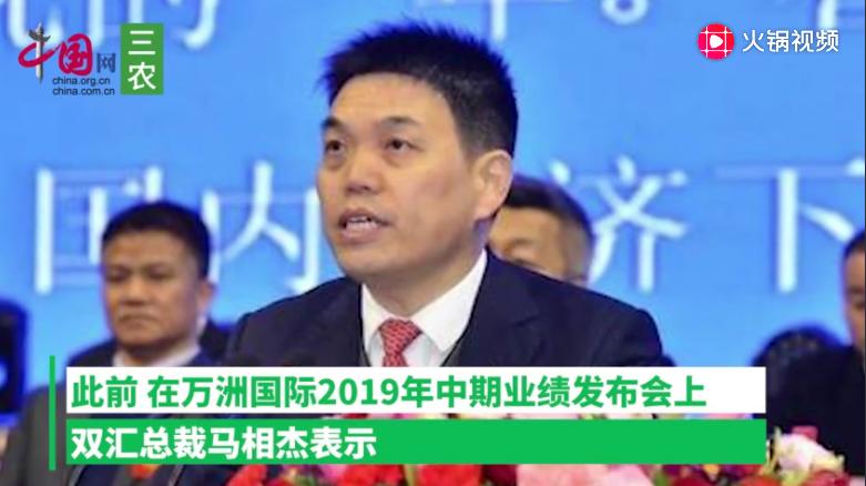 双汇总裁马相杰:上半年提价10% 预计下半年猪肉价格不会大涨