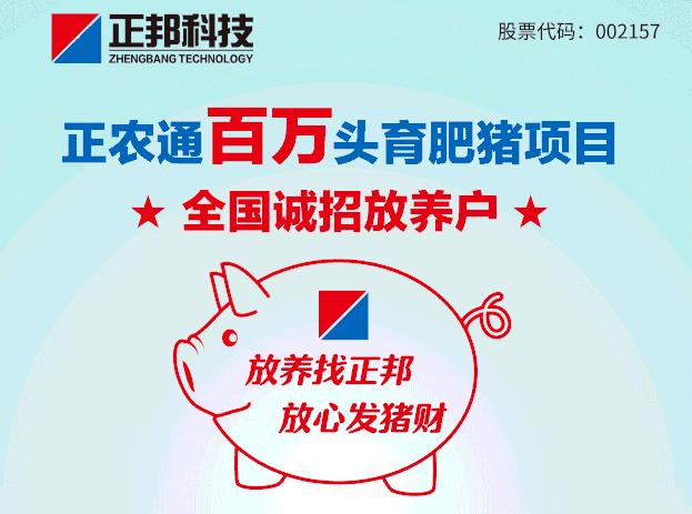 """""""猪场协管找正邦"""" 漳州正邦助力猪场客户逆势扩张"""