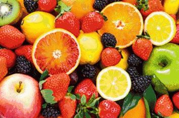 富含膳食纤维水果
