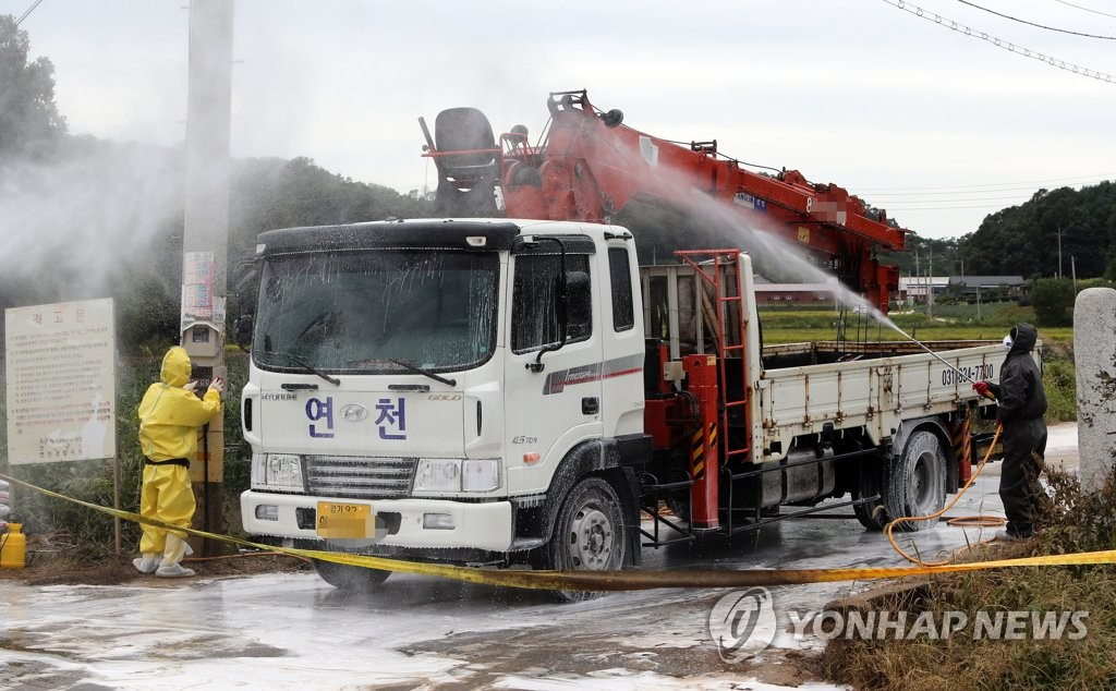 韩国金浦报告1例非洲猪瘟疑似病例