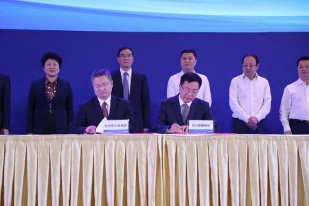 德康集团与达州、自贡等多地政府签订生猪养殖合作协议