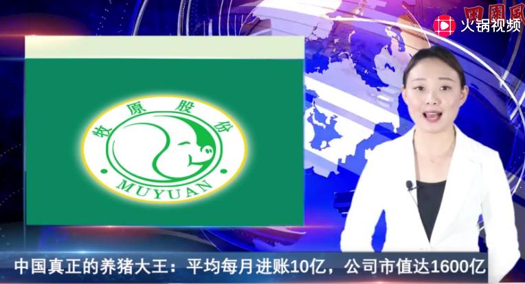 中国真正的养猪大王:平均每月进账10亿,公司市值达1600亿