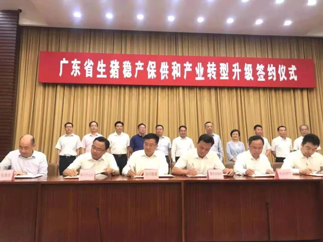 挺进广东!德康集团携手肇庆市200万头生猪养殖项目