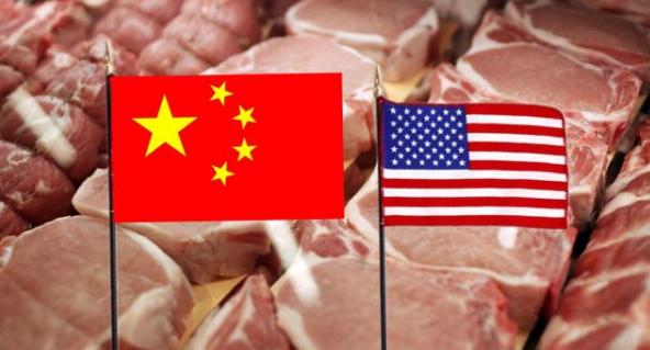 中国进口美国猪肉增至142200吨,新增118万吨美国大豆订单
