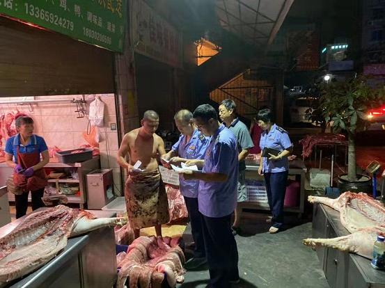 厦门两部门凌晨出击 查获780公斤私宰猪肉