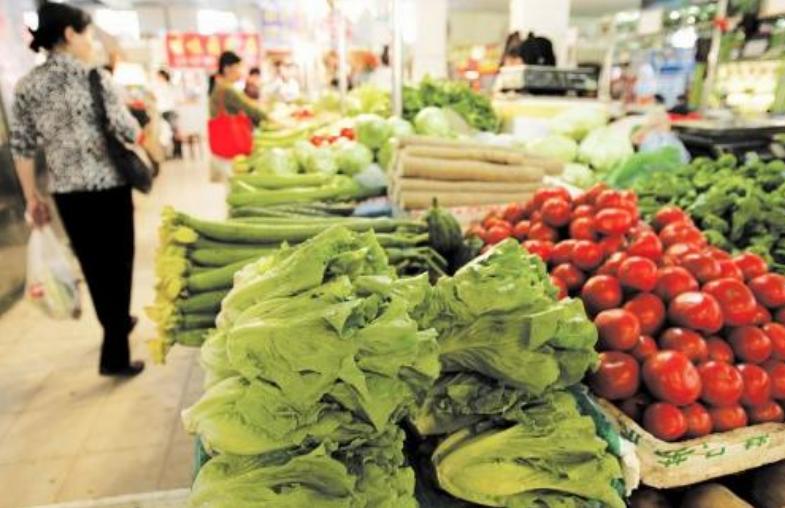 市场上农副产品