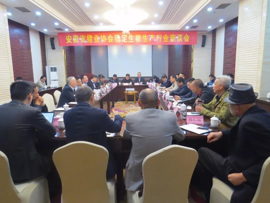 安徽省猪业协会举办稳定生猪生产行业座谈会圆满落幕