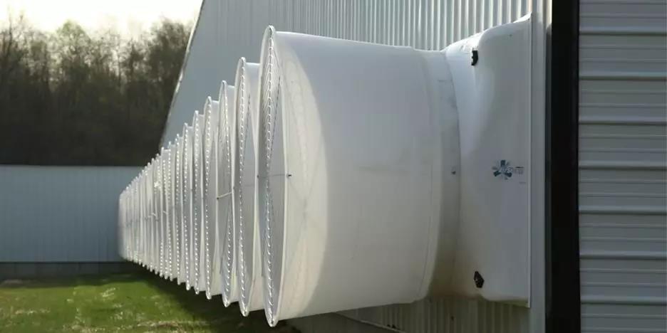 猪舍风机为什么要安装喇叭口呢?答案在这里!