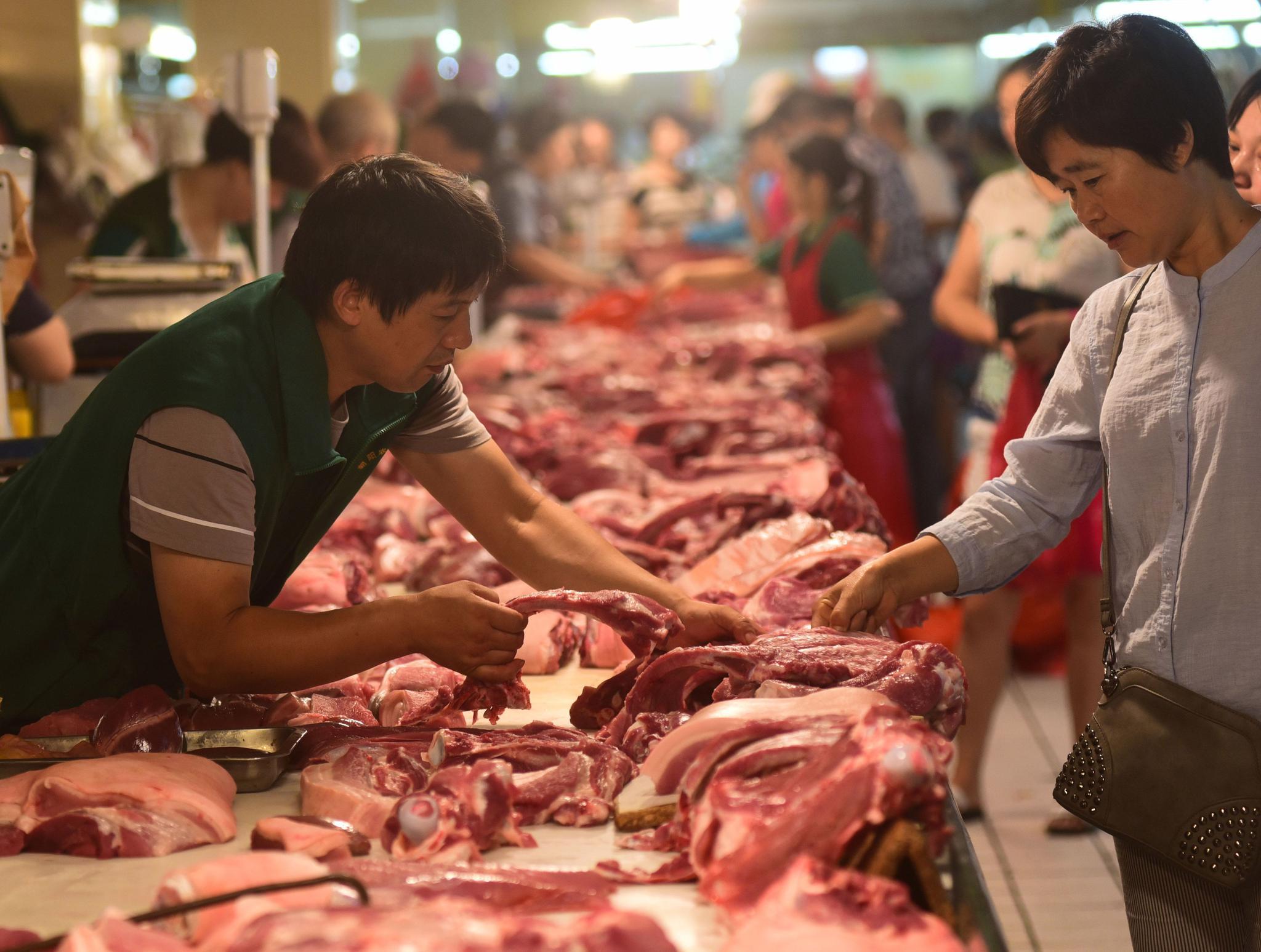 上海市政府研究猪肉保供稳价等民生议题