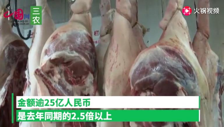 9月中国进口猪肉超16万吨 同比大增71.6%