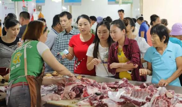 海口启动22种蔬菜品种监测 47家农贸市场经营者和猪肉摊贩被约谈