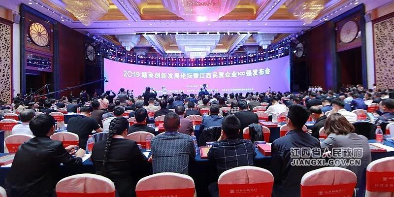 江西省百强民营企业榜单公布,双胞胎位列第三