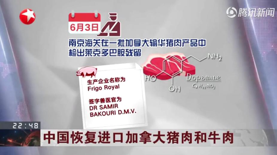 中国将会恢复进口加拿大猪肉和牛肉