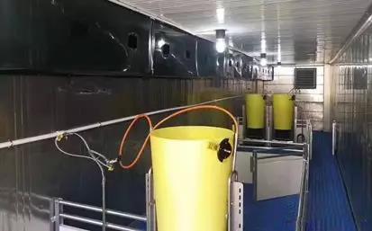 这个改装猪舍,清栏第二天即可进健康猪复养