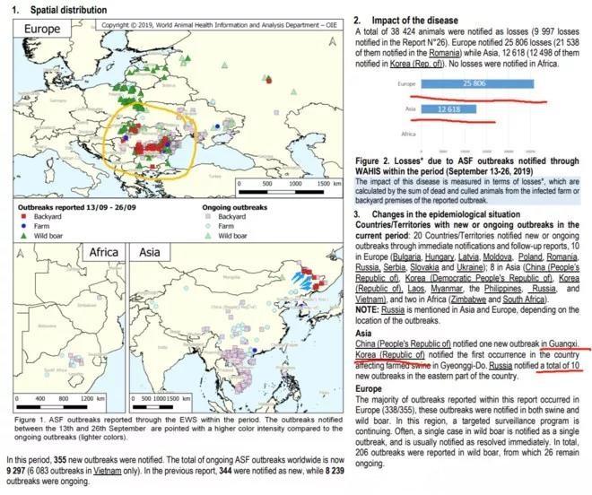 中俄边境非瘟疫情