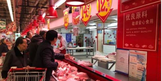 """菏泽猪肉价格微降 市民感觉""""不过瘾"""""""