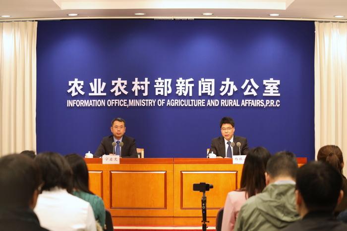 农业农村部就10月份生猪生产形势有关情况举行例行新闻发布会