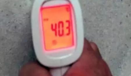 地暖温度测试