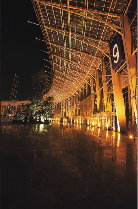 成都世纪城新国际会展中心展览馆