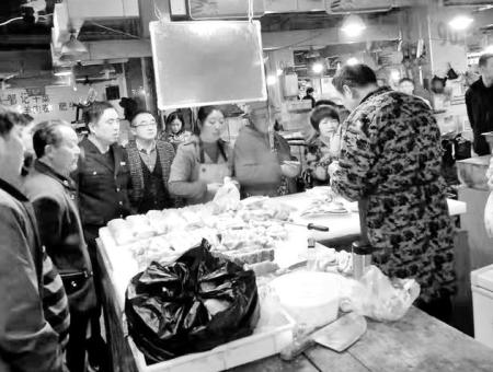 九江江洲菜场设立平价肉供应点 价格低于市场价格10%至15%