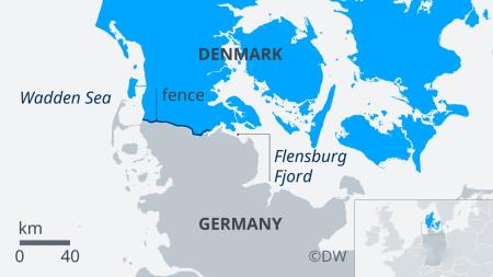 丹麦边境围栏