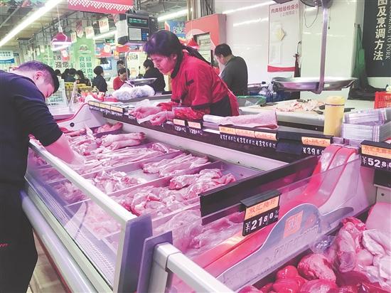 泉州市猪肉价格又有回落,市民的购买欲望有所提升!
