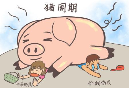 舞钢市养猪大户李万邦:养猪有周期坚持能赚钱