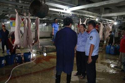 佛山强化生猪屠宰场监管 保障肉品质量安全