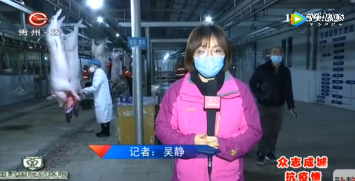 贵州贵阳:屠宰企业提前复工,保障市场猪肉供应!