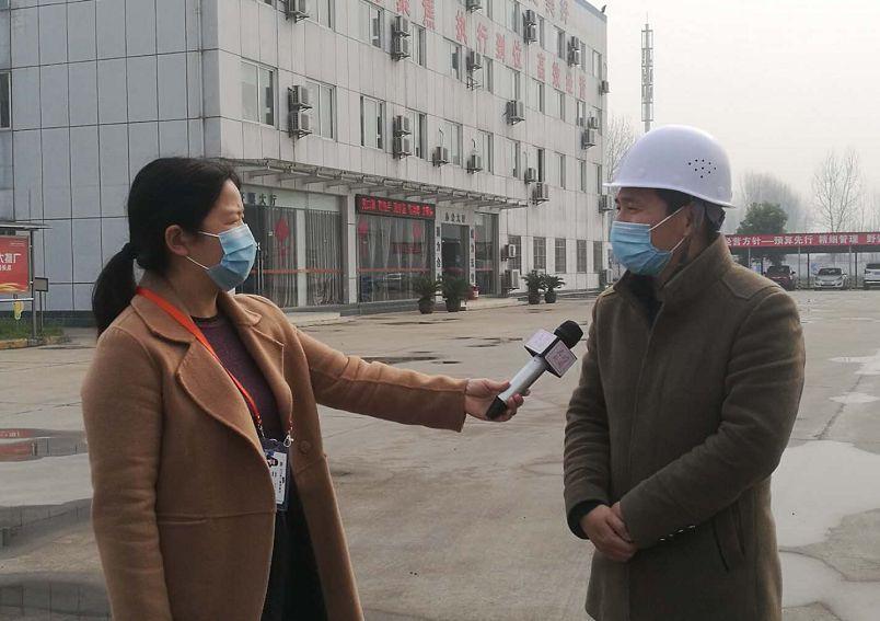 天门电视台聚焦《天门通威》有序复工复产,保障市场饲料供应
