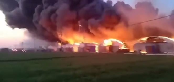 3月5日突发大火!连烧16个养殖大棚!